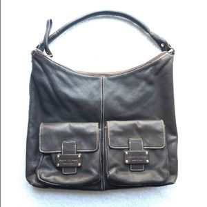 KATE SPADE NY Brown Leather Tote Hobo Bag Purse